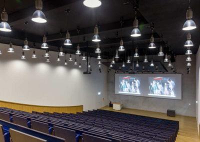 Universität Luxemburg Belval Hörsaal - AK Media - promedia