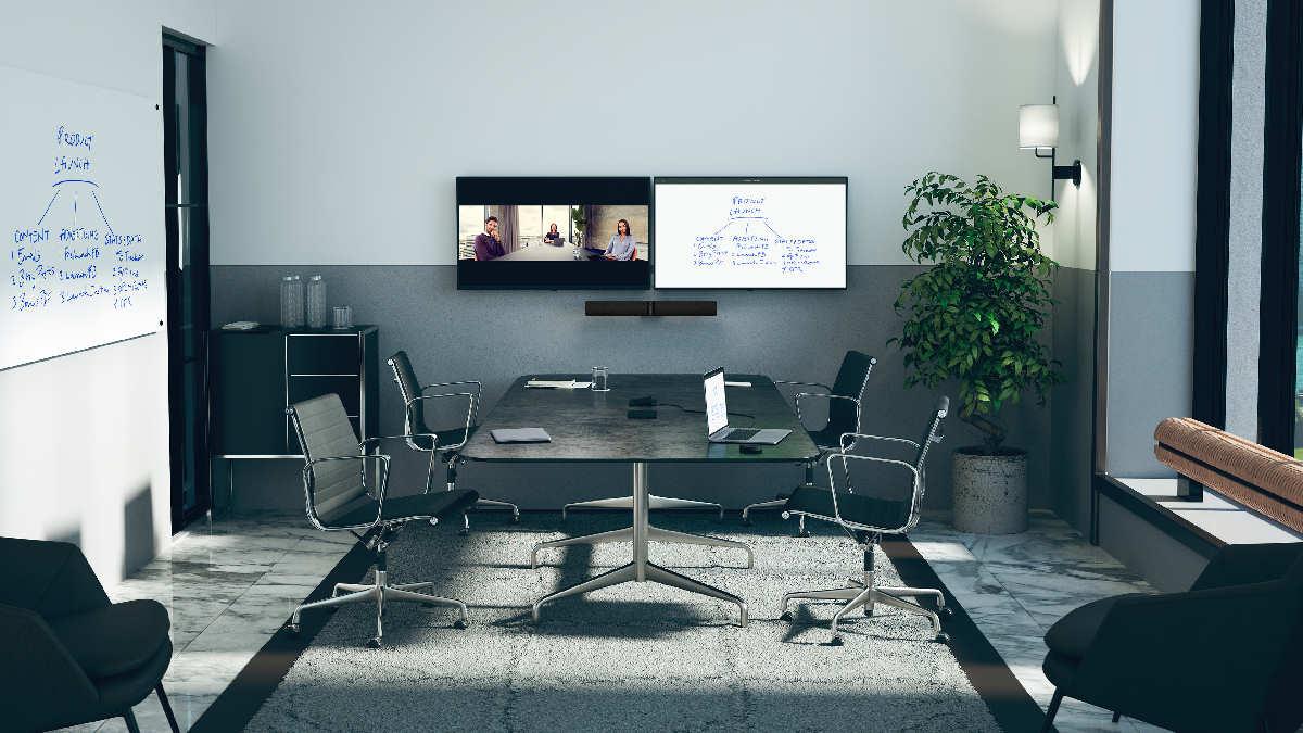 Jabra PanaCast 50 Black Meeting Raum