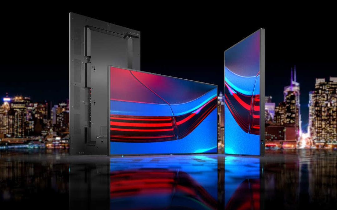 Neue Generation der Large Format Displays der P-Serie von Sharp/NEC