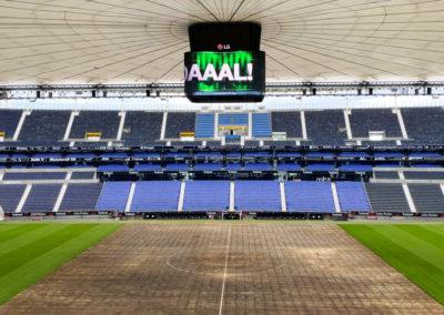 LED-Würfel Frankfurter Stadion