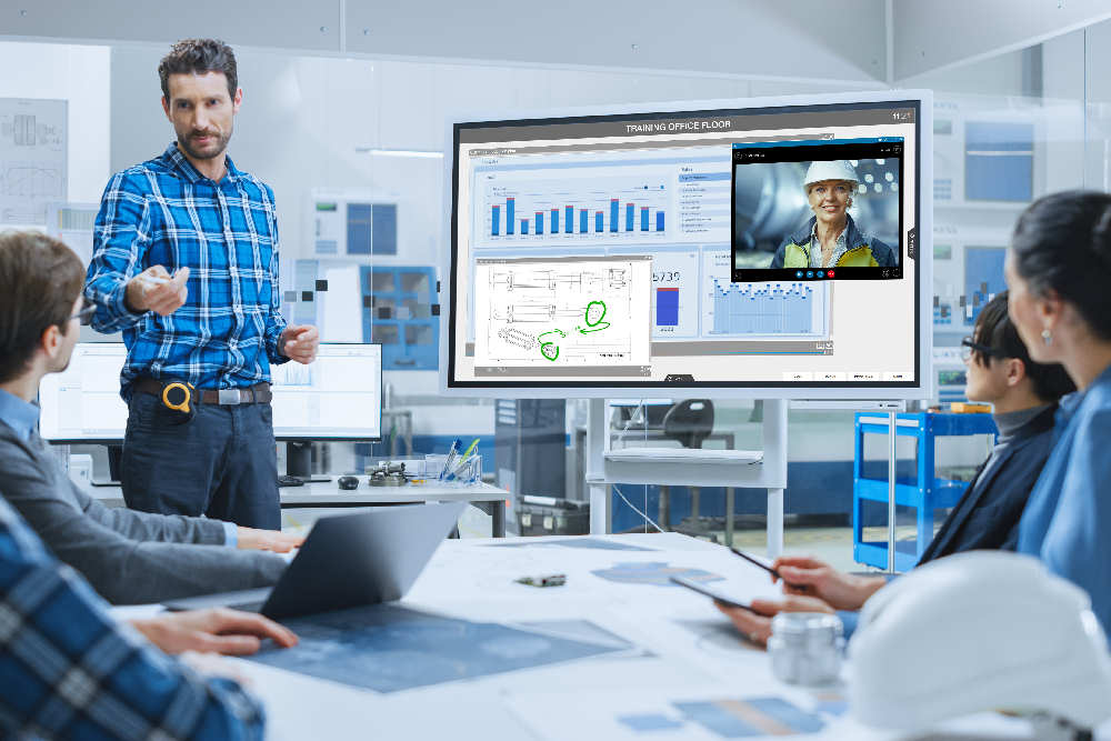 Produktion Shopfloor smartPerform