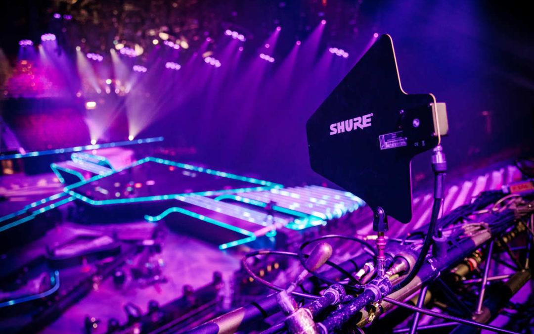 Shure überzeugt beim Eurovision Song Contest 2021 mit dem AXIENT DIGITAL Drahtlossystem