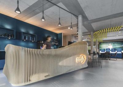 Bayer. Tennisverband BTV LED-Wand