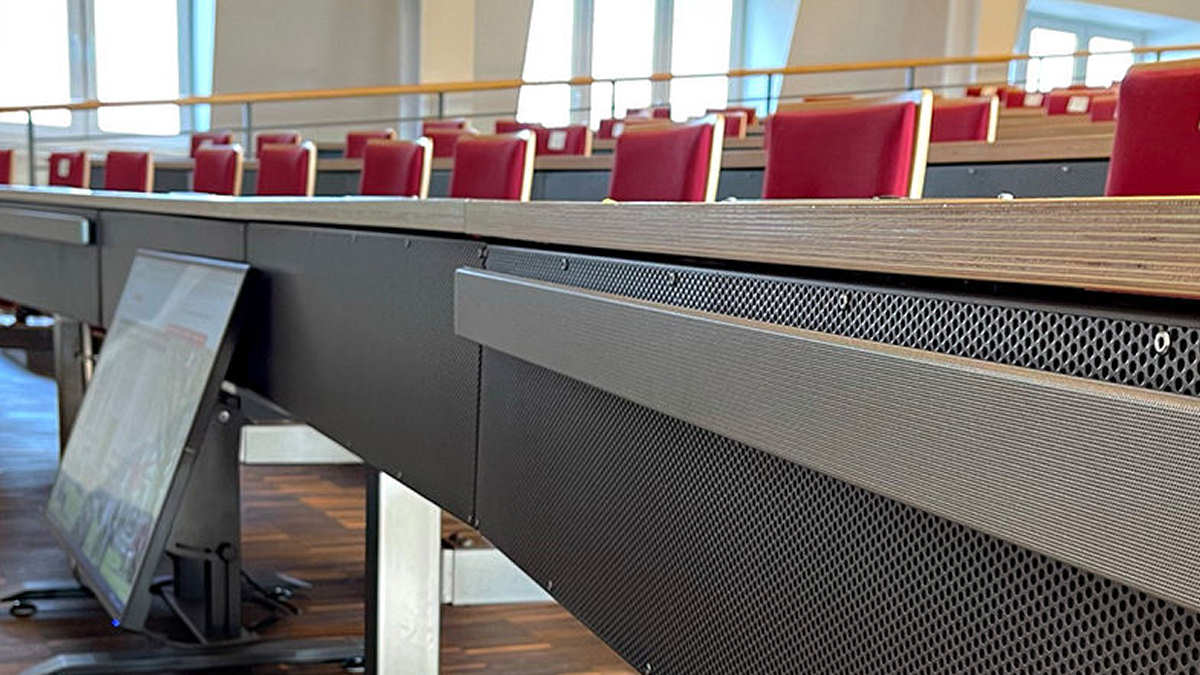 Integrierte Mikrofonarrays in der Bucerius Law School