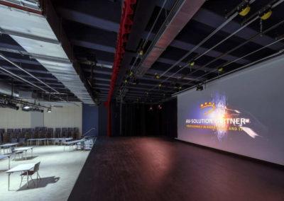 Gymnasium Haan Aula Bühne
