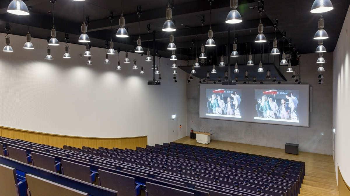 Hörsaal Universität Luxemburg, Belval