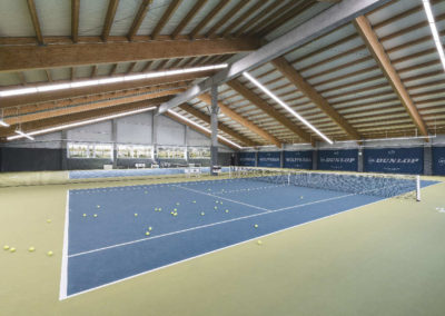 Tennishalle BTV - act Medientechnik