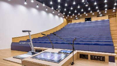 Universität Luxemburg Hörsaal AK Media & promedia