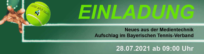 Bayer. Tennisverband Einladung