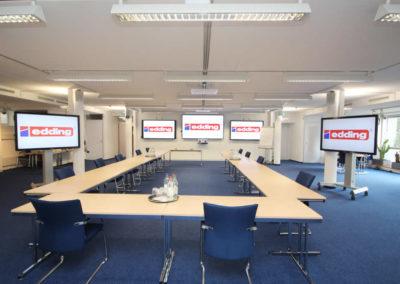 Edding-Konferenzraumtechnik