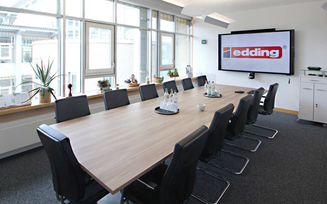 Shure liefert neueste Mikrofontechnik für Eddings Konferenzräume