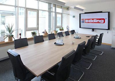 Edding-Konferenzraumtechnik Mediasystem Shure
