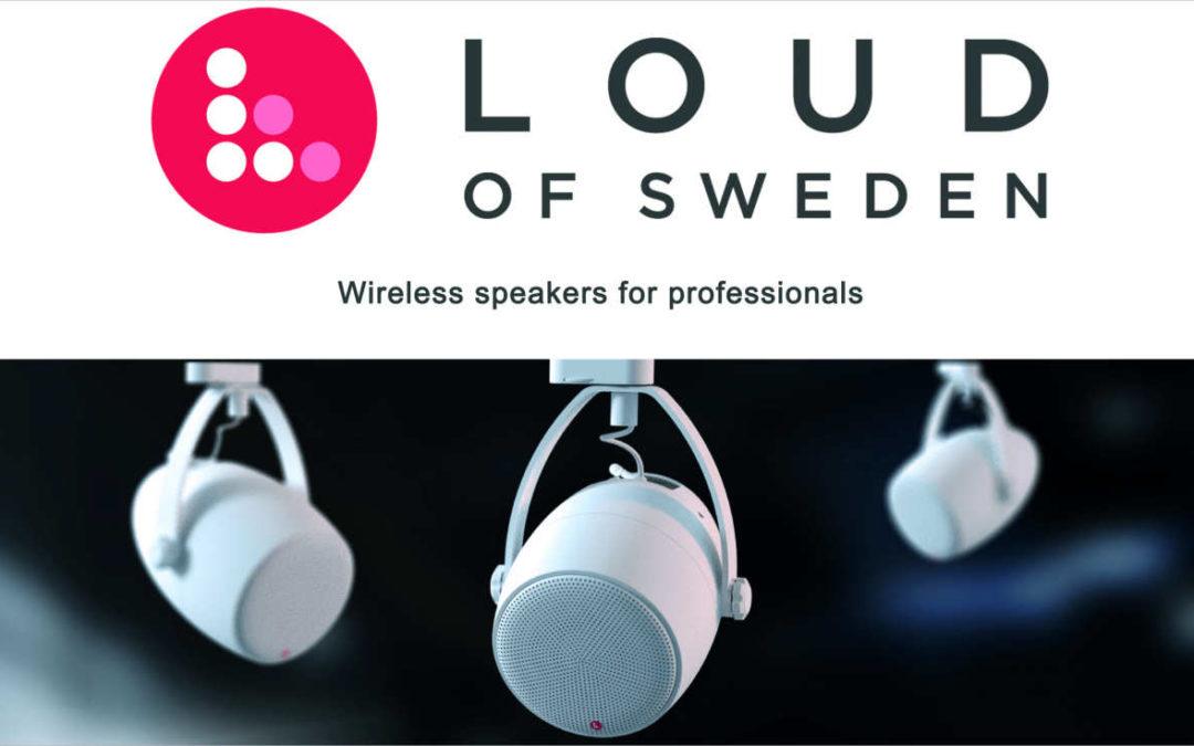 syscomtec neuer Vertriebspartner von Loud of Sweden