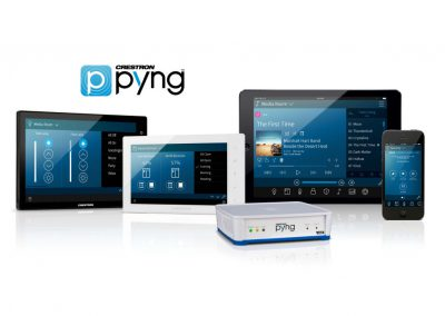 Crestron Pyng Touchscreens