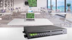 Neue einfache Raumlösungen von Crestron DigitalMedia™ decken den gesamten Bedarf in kleineren Räumen ab