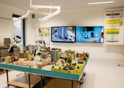 Planuebungsraum der Landesfeuerwhrschule Baden Württemberg / multi-media systeme AG