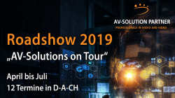 Roadshow 2019: Medientechnik in digitalen Zeiten