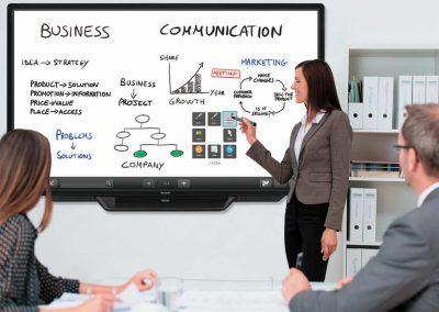 Sharp PN 80TC3 Touchtechnologie im Businessbereich