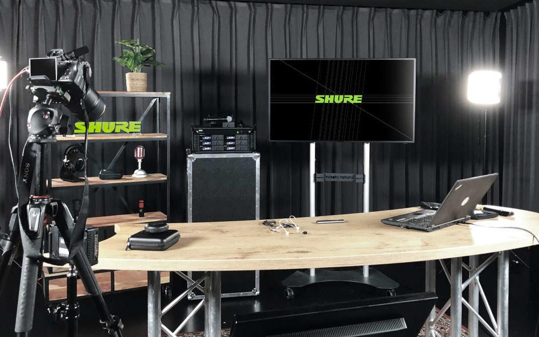 Neue Webinare beim Shure Audio Institute