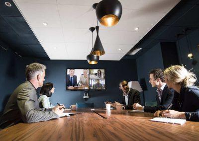 Video-Web-Konferenztechnik