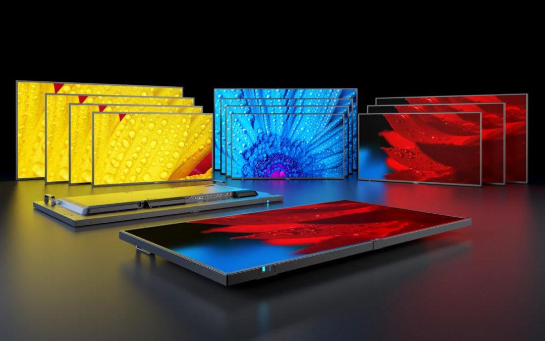 NEC: MESSAGE Line-up – neue Generation von Large Format Displays