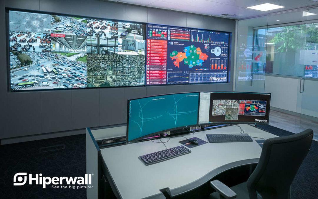 Sharp NEC Display Solutions und Hiperwall präsentieren Hiperwall 7.0 für den Einsatz in Kontrollräumen