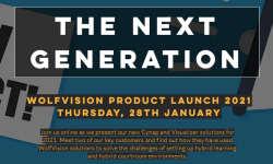 WolfVision Produktlaunch 2021: Die nächste Generation!