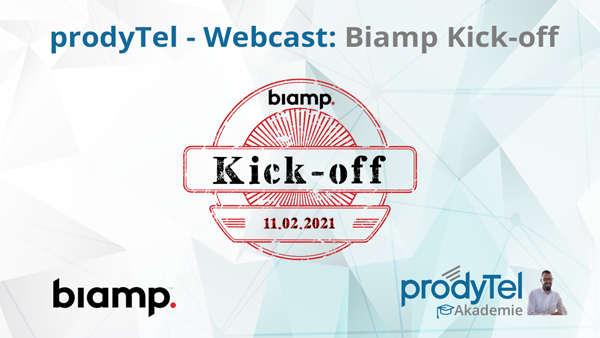 Neue Produkte und Lösungen von Biamp – Webcast am 11.02.2021
